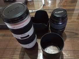 Lensa canon gelang merah tele makro 70 200 F2.8 L