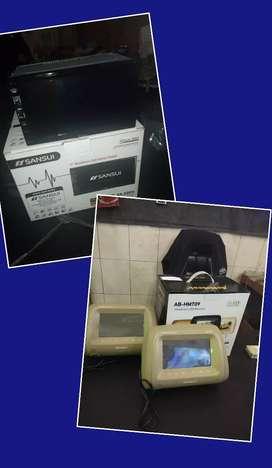 Promo Paket Hemat Tv Mobil+Sepasang Sandaran Tv Mobil Bisa DiKreditkan