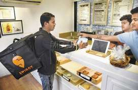 Swiggy process  hiring 250  delivery boys / feild executives in NCR .