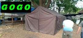 Tenda camping pramuka tni polri 4x6