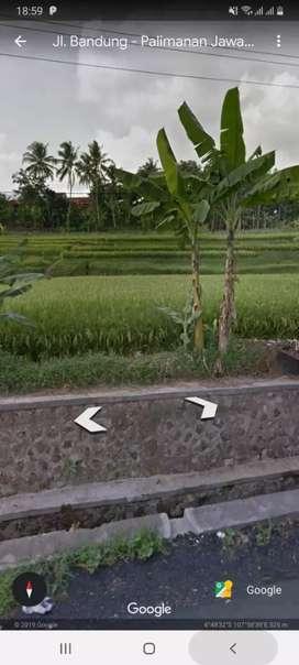 Jual Tanah Pinggir Jalan Raya Cimalaka
