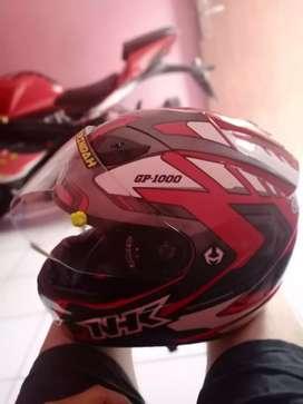 NHK gp1000 + sarung helm size L