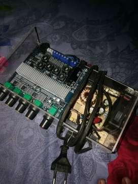 kit amplifier class d 2.1 channel 200 watt