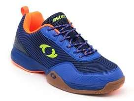 Sepatu Badminton Astec Cobarzon Blue Original TERMURAH