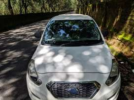 Uber and Ola attached car( Datsun go CNG) for daily rent basis.