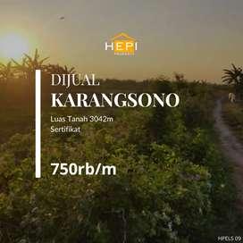 Tanah Karangsono Mranggen Demak sebelah Semarang