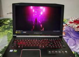 Gud Acer predator Helios 300 Core i5 processor all options