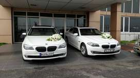 BMW 5 series or Audi A6 for rental with driver