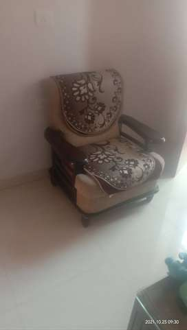 Sofa set five seater with table