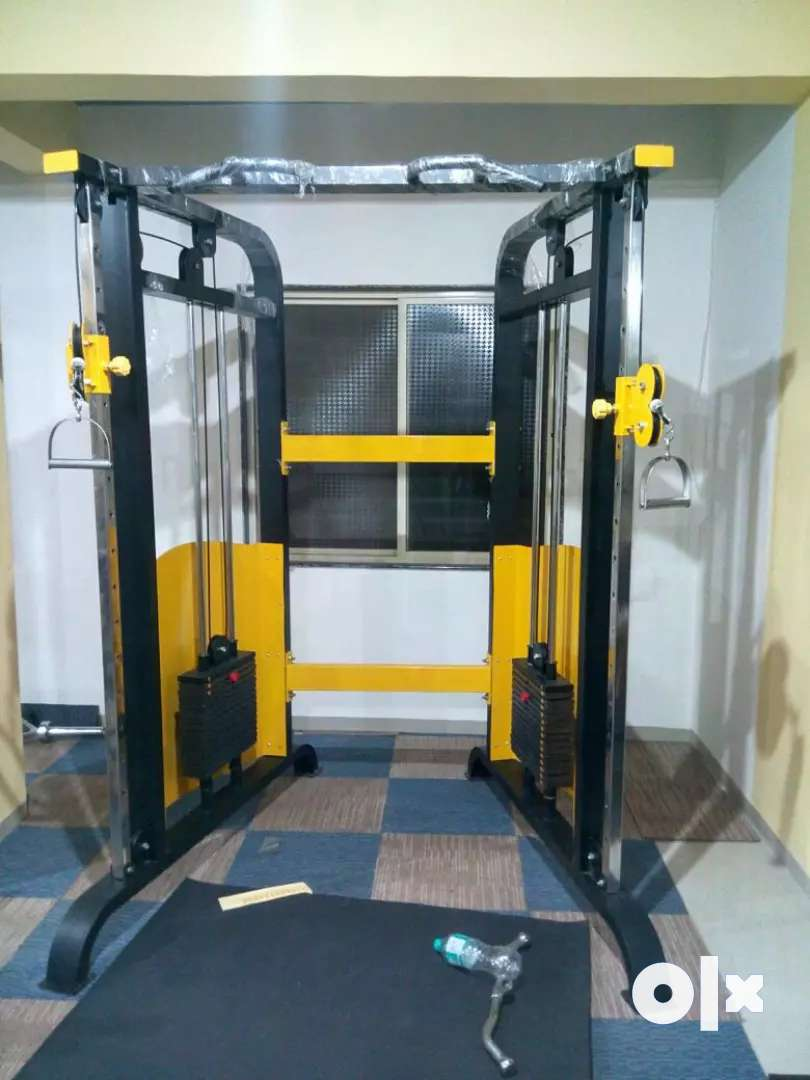 Full gym set up at affordable price 0