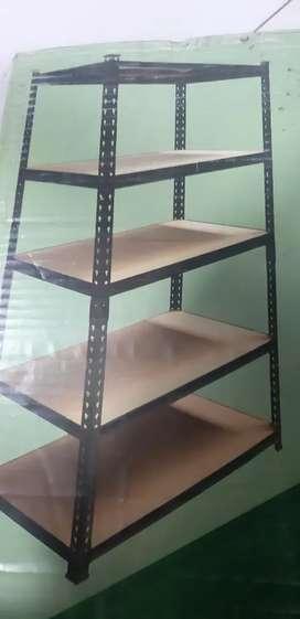 2 sets of bolt less multipurpose rack.
