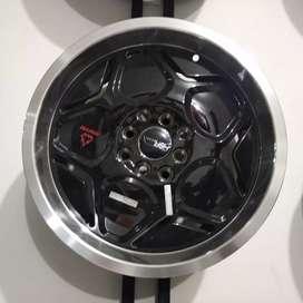 Velg mobil racing HSR ring 16x7/8 pcd 8x100-114 type MYTH04 BML