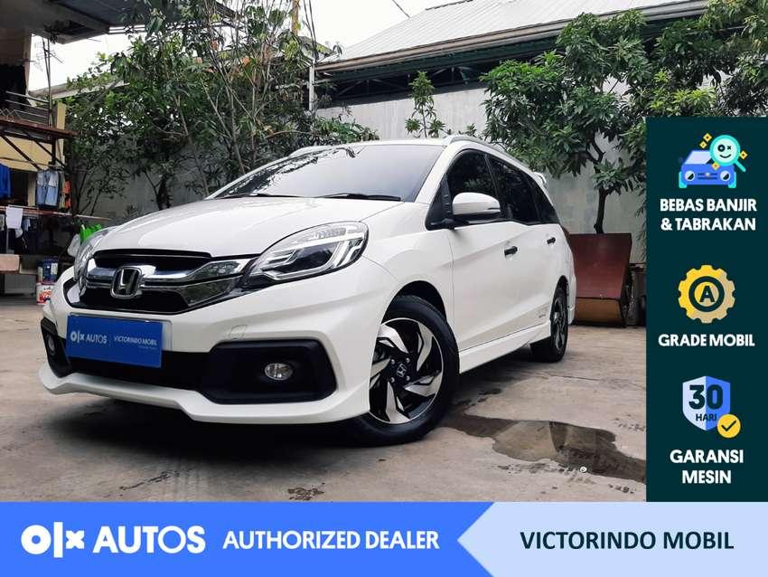 [OLXAutos] Honda Mobilio 2016 1.5 RS CVT A/T Bensin Putih #Victorindo