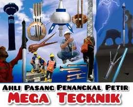 Cabang anti petir Murah    toko pasang penangkal petir radius Lembang