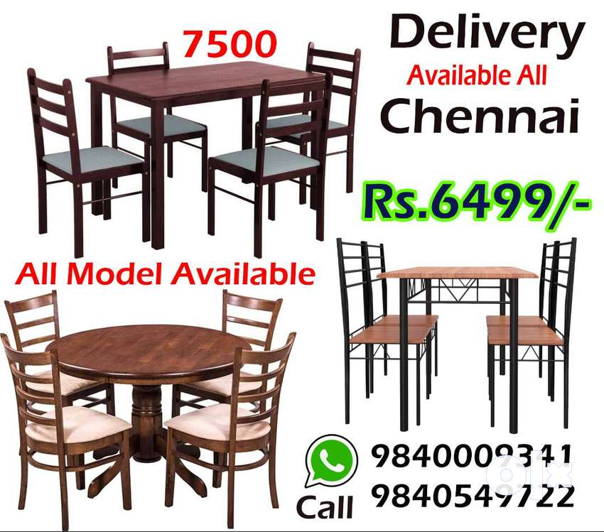 Brand New  Dining Table 4 /6  seater dining table sets wooden 0