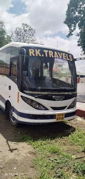 Swaraj mazda 12-seater AC bus