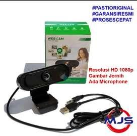 Webcam 1080p HD Gambar bening ada Microphone