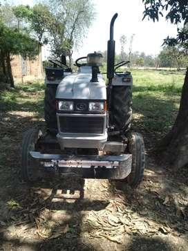 Eicher tractor 5150  Mahindra gyrovator.