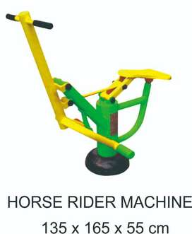 Horse Rider Machine Alat FItness Outdoor