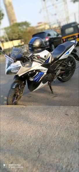 Yamaha R15 S well maintained and properly serviced, single user
