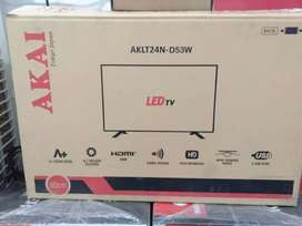24 inch Akai Smart full HD LED TV 3 years full warranty price