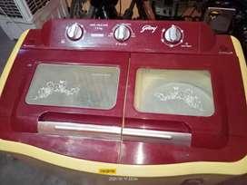 Godrej washing mashines