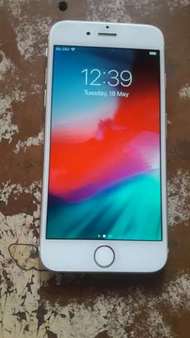 iphone 6 16gb white colour working finger print