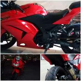 Ninja 250 Merah 2010