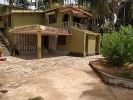 2 BHK house for rent near Brahmavar