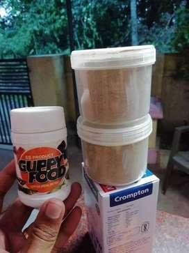 Fish Food: Growel powder