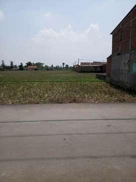 Di jual lahan kosoong di samping perumahan BSI