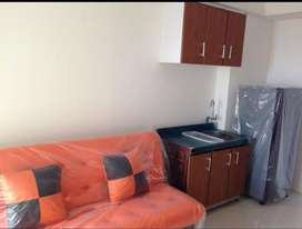 Sewa Apertemen Gunawangsa Tidar tipe 2 BR furnished