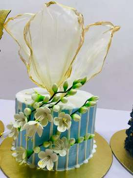 Cake creation bake