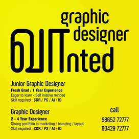 graphic design wanted