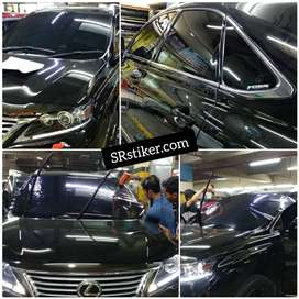 Wrapping Kaca Film Premium Blok Cutting Decal Laminasi Bandung
