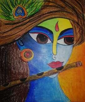 Lord Krishna Painting