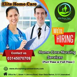 Required Male or Female Nurse in Islamabad