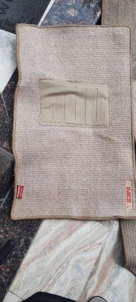 3D Carpet matting brand new for SCORPIO vegicle