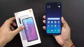 Redmi note 8 only 10 days use condition 10/10 colour black