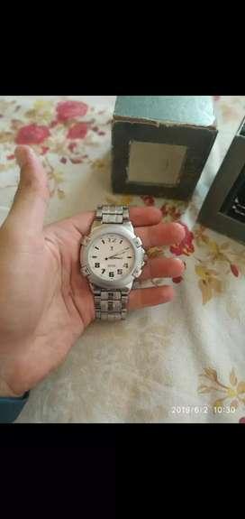 D'vine Stainless Steel Watch
