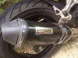 knalpot cld evolution 150cc up slip on untuk cbr 250 ninja fi xmax dll