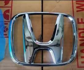 Emblem Logo H Chrome Honda Brio 2019