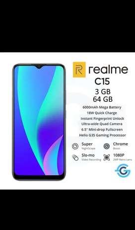 Realme c15 3/64gb