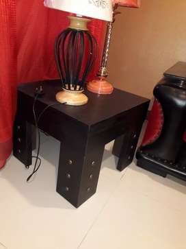 side tables stylish pair