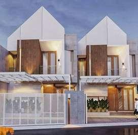 DIJUAL Rumah SCANDINAVIAN MODERN di Jagakarsa, Jakarta Selatan