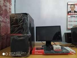 1set PC intel core i5 2500 speed 3.3ghz ram 4gb vga 1gb hdd 320gb