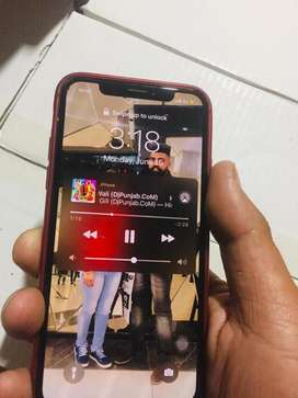 Iphone x 256 gb good cndtion