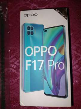 Oppo f 17 pro  with box original handsfree and charger
