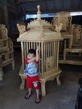 Kandang ayam jati Bangkok bekisar pelung sangkar burung Maulana