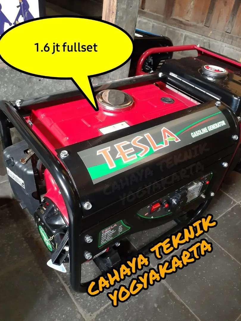 (CAHAYA TEKNIK JOGJA) genset tesla 1150 watt 4 tak new 0